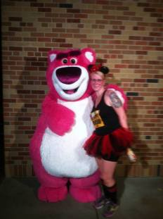 Me and Lotso at Tower of Terror 10 miler