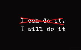 I will do it.