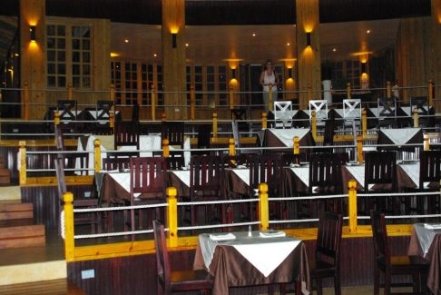 Terraced restaurant